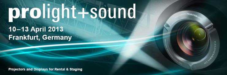 prolight sound 2013 landscape