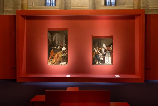 Lilluminazione della mostra di palazzo venezia a roma con concord