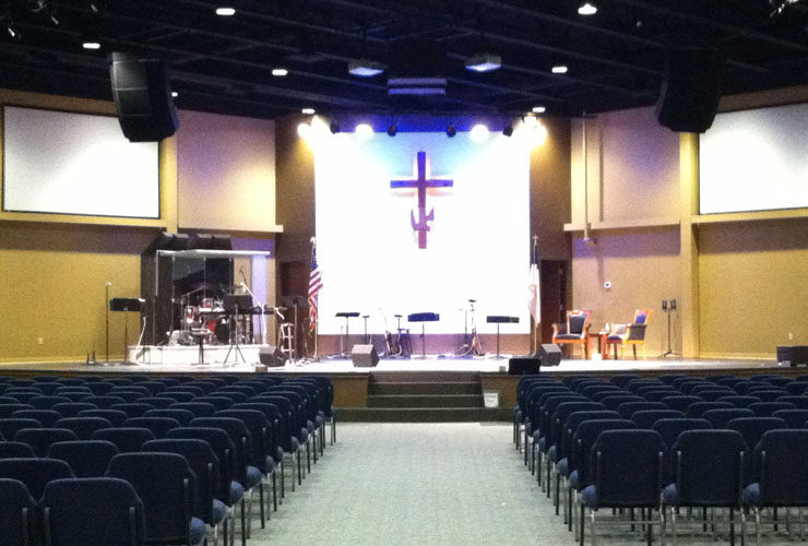 Heartland Ministries' New Sanctuary
