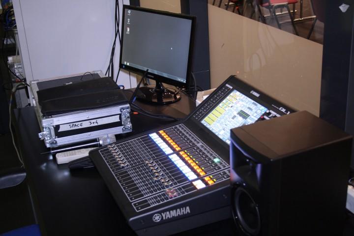 control room yamaha