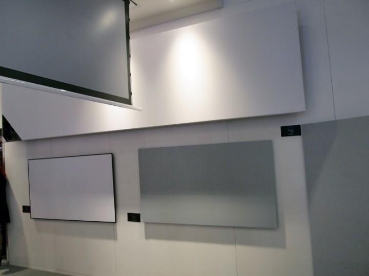 Una selezione degli schermi Adeo Screen