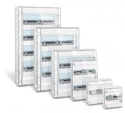 Bticino linea wall i nuovi centralini for Quadro esterno 72 moduli