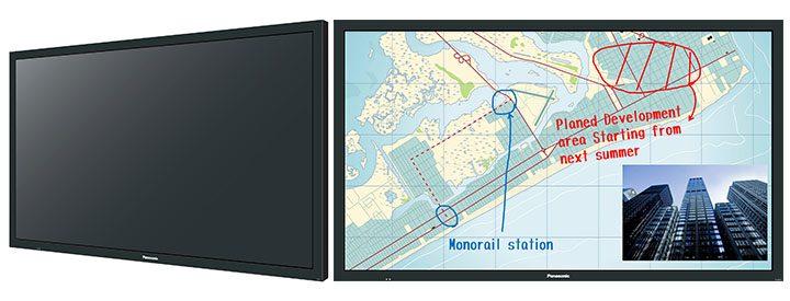 Panasonic BF1: i display-whiteboard che puntano sulla versatilità