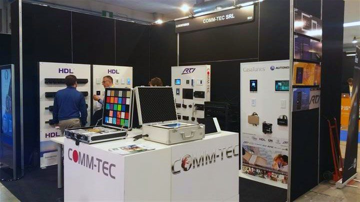 Illuminotronica, i sistemi integrati Audio/Video/Controllo Comm-Tec a servizio della domotica