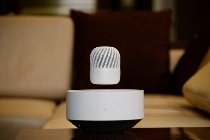 LG presenterà al prossimo CES uno speaker Bluetooth in grado di volare