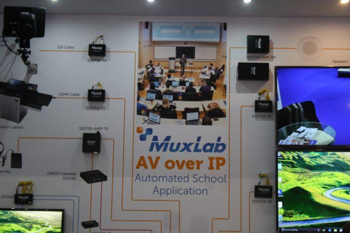 ISE 2017, Muxlab presenta nuove soluzioni Extender e Matrici per i segnali AV