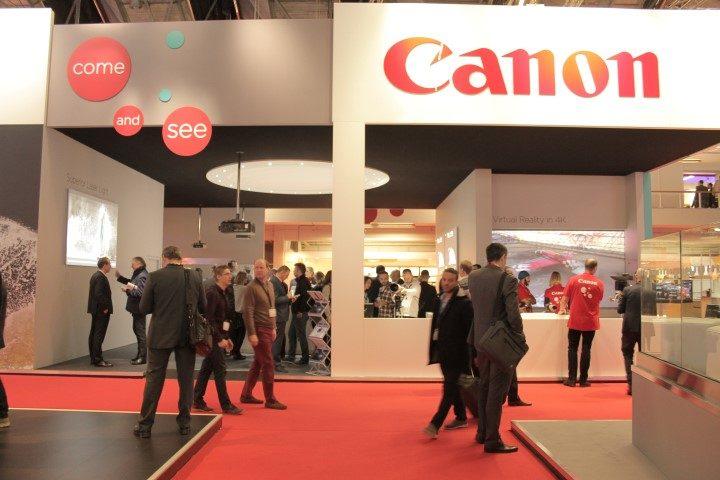 Tour allo stand Canon, fra installazioni immersive, display a 360° e proiettori nativi 4K