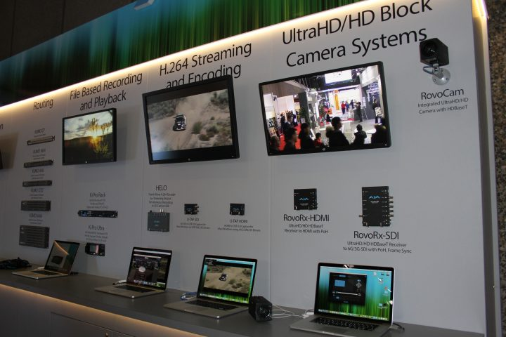 AJA Video Systems presenta a ISE i suoi nuovi sistemi di controllo, registrazione e riproduzione AV