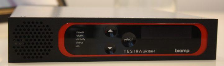 Il trasporto video 4K@60 secondo Biamp con Tesira Lux a ISE