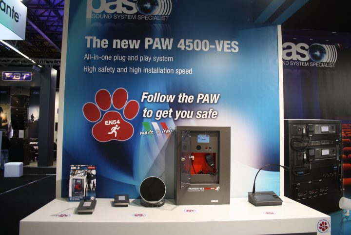 Follow the Paw by Paso, motto accattivante per una soluzione voice alarm all in one