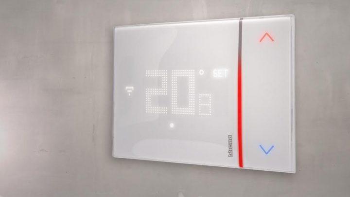 Il termostato smarther bticino premiato agli if design - Smarther bticino ...