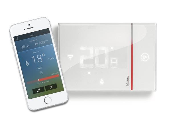 smarther il termostato di bticino con wi fi integrato