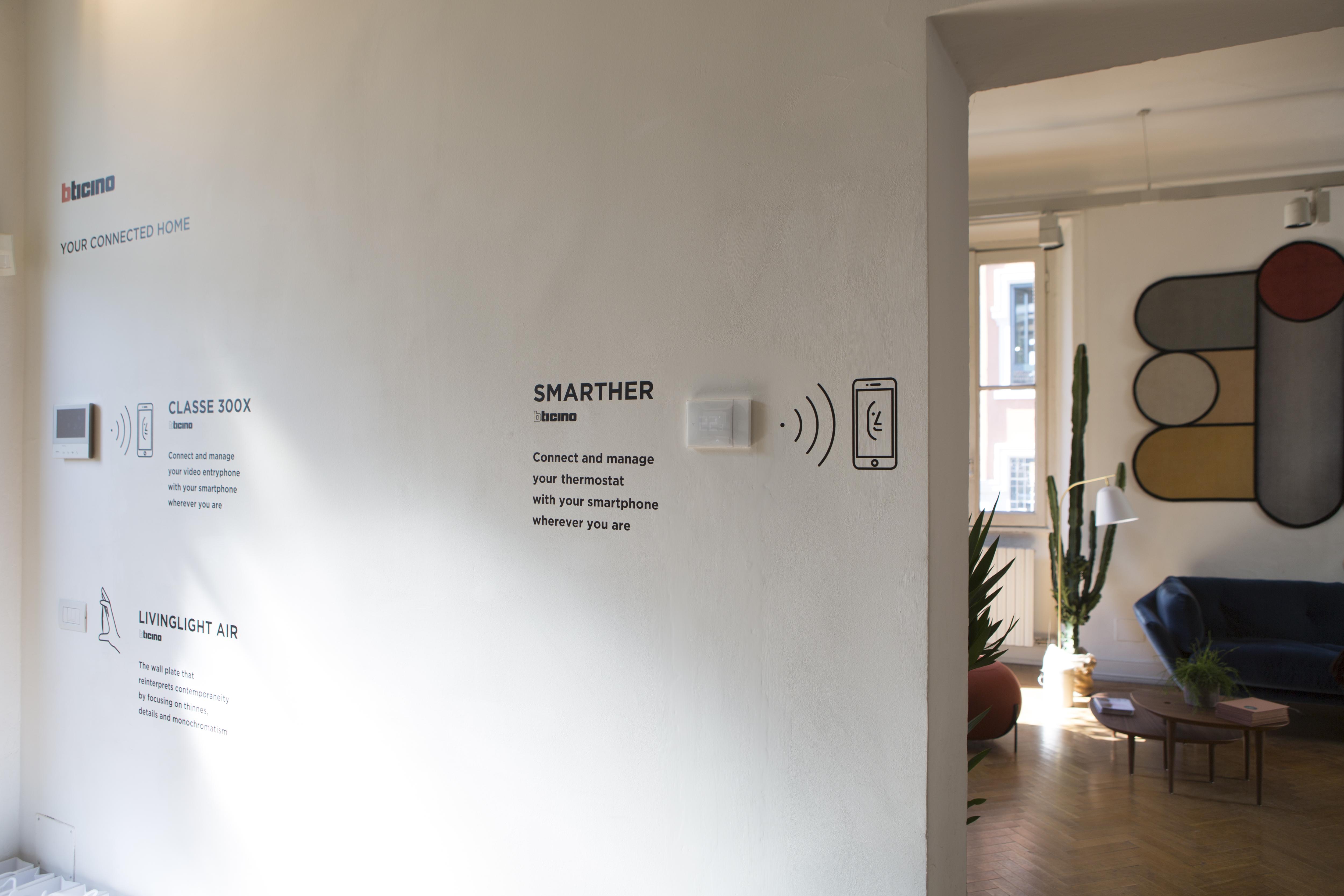Fuorisalone 2017 una design experience con il - Smarther bticino ...