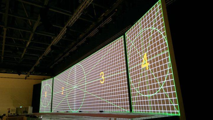 I videoproiettori panasonic per il restyling di fiera milano