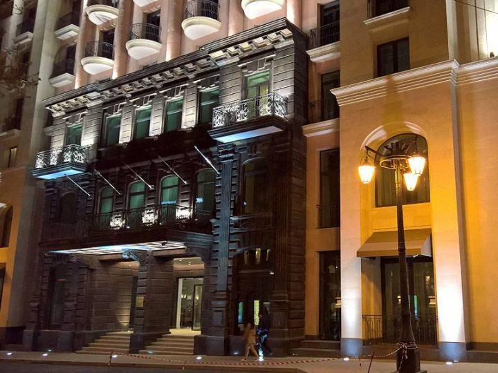 Illuminazione architetturale targata griven per l for Piccoli piani di costruzione dell hotel