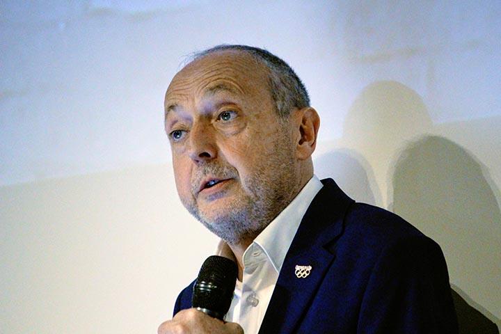 Immagini dalla conferenza stampa - Laurent Abadie, CEO di Panasonic Europe
