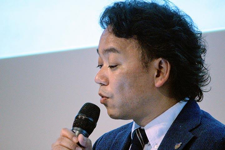 Immagini dalla conferenza stampa - Shigeo Usui, direttore della divisione Design di Panasonic