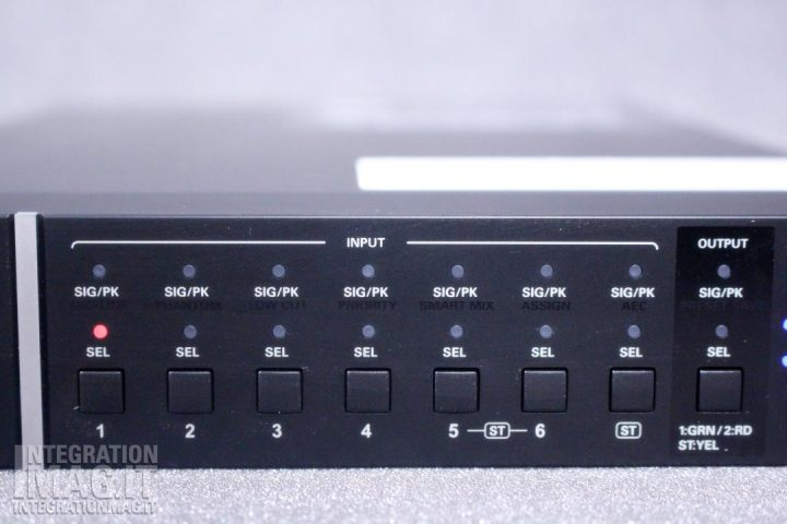AudioTechnica ATDM-0604 front panel