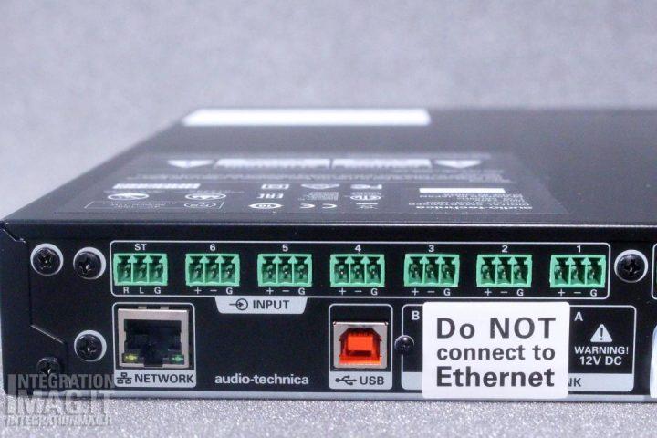 AudioTechnica ATDM-0604 rear input