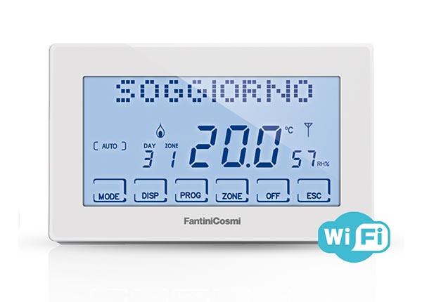 Intellicomfort ch180 rf wifi cronotermostato di fantini for Intellicomfort ch180