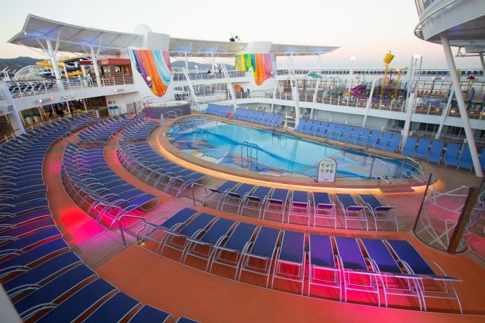 Illuminazione led di elation per la nave da crociera più grande del