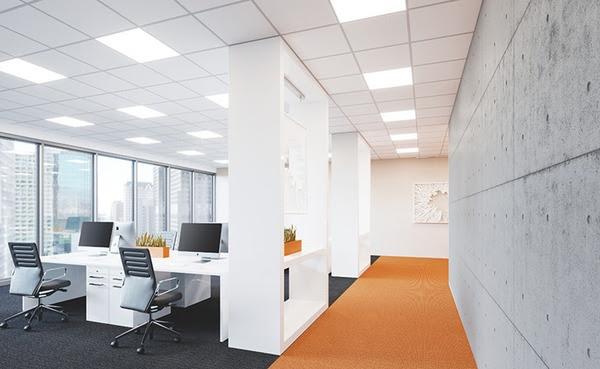 Sistemi Illuminazione Ufficio.La Famiglia Di Apparecchi Di Illuminazione Per Uffici